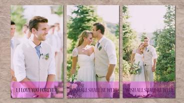 Romantic Wedding After Effects Template