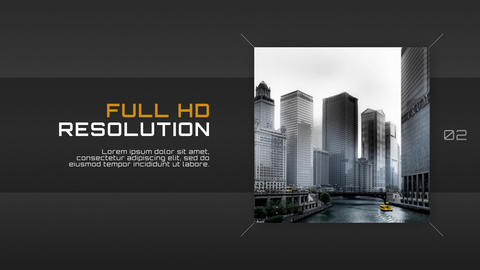 Rectangle Corporate - Slideshow After Effects Template