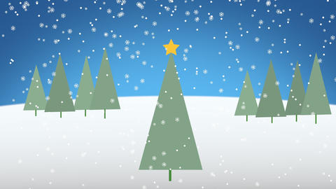 Christmas title - Apple Motion and Final Cut Pro X Template Apple Motion Template