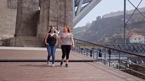 Sightseeing trip to Porto - CITY OF PORTO, PORTUGAL - SEPTEMBER 18, 2019 Footage