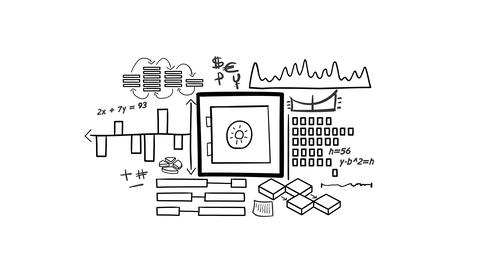 Isolated Hand Drawn Safe Icon Infographics Animation