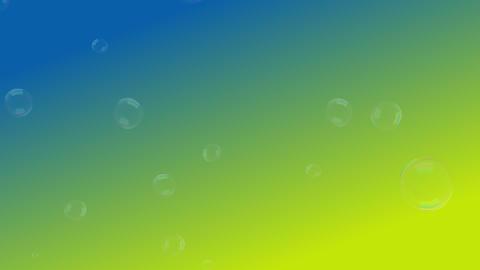 シャボン玉と子供用背景素材 CG動画
