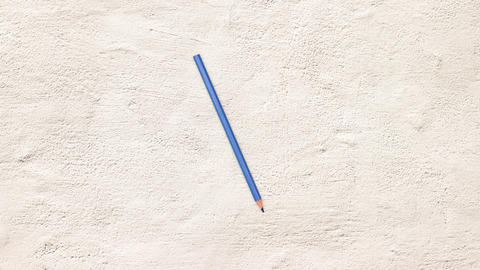 Colored pencils moving in circle and changing colors - Stop motion Videos animados