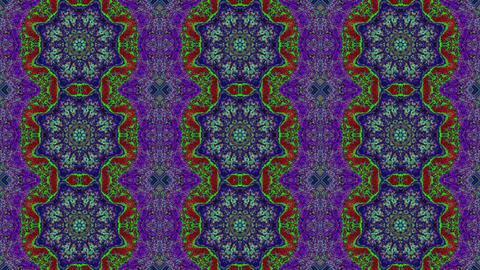 Fantastic artistic light distortions, creative fractal kaleidoscope Footage