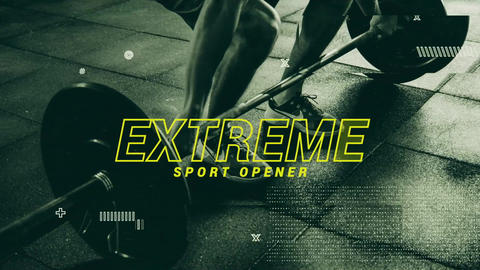 Hitt - Sport Fitness Promo Plantilla de After Effects