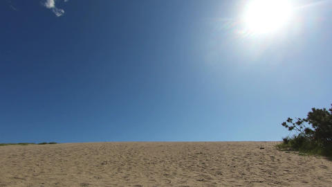 natural, holiday, outdoor, scene, scenic, tourism, sky, landscape, blue, sand, nature, clouds, tree, Footage