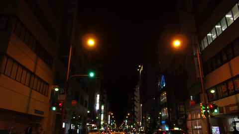 Traveling video. Downtown at night ライブ動画