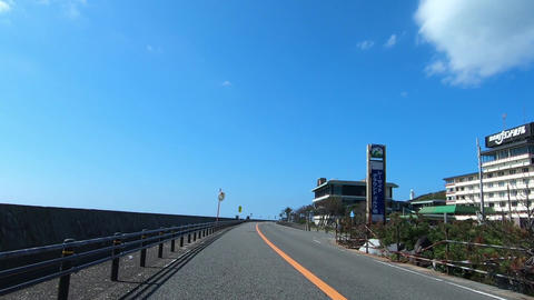 Traveling video. Road on a sunny day ライブ動画