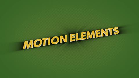 【3Dテキスト】プラグインなし!動きがおしゃれで汎用性が高いテキストイントロアニメーション! After Effectsテンプレート