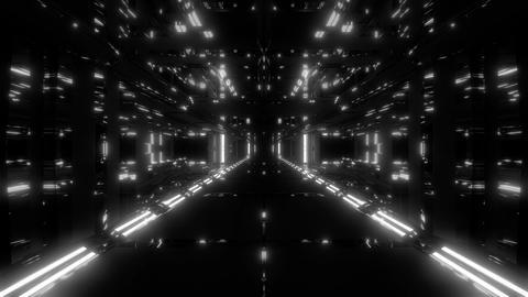 futuristic scifi tunnel corridor 3d illustration live wallpaper motion Animation