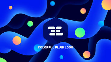 Resizable Logo v 1 - Colorful Style Plantilla de After Effects