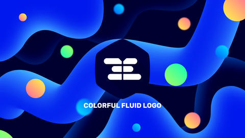 Resizable Logo v.1 - Colorful Style After Effects Template