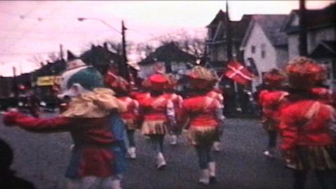 Parade 1968 Vintage 8mm film Stock Video Footage