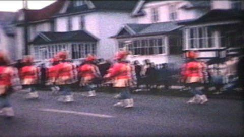 Parade 1968 Vintage 8mm film Stock Video Footage