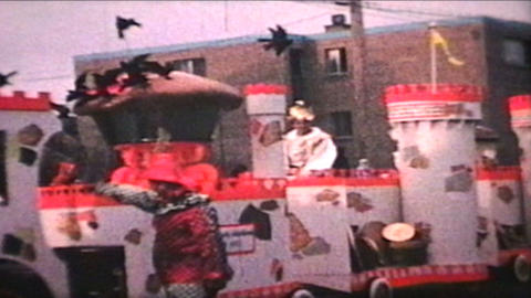 Parade 1968 Vintage 8mm film Footage