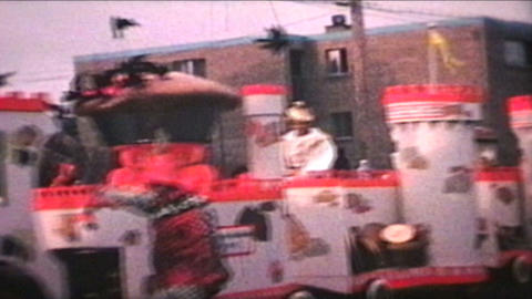 Parade 1968 Vintage 8mm film Footage