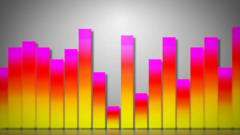 3d audio bar dance Stock Video Footage