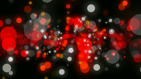 dot particles Stock Video Footage