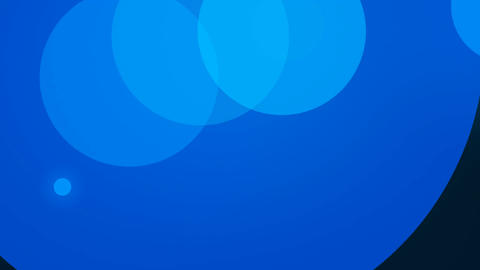 blue circle Stock Video Footage