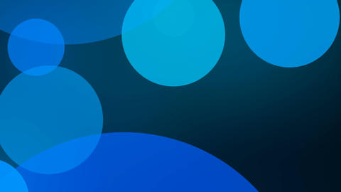 blue circle Animation