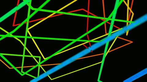 gaffiti rainbow Stock Video Footage