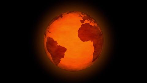 Global Warming Animation