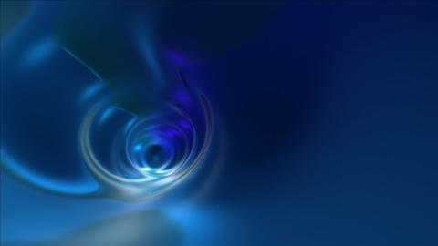 Blue Abstract Tunnel. stock footage