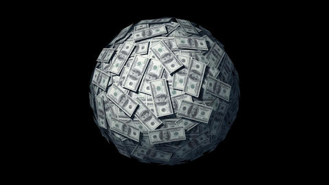 Looping Money Ball Animation