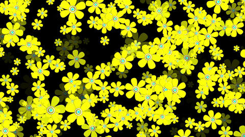 4 K Flying Flowers 11 Animation