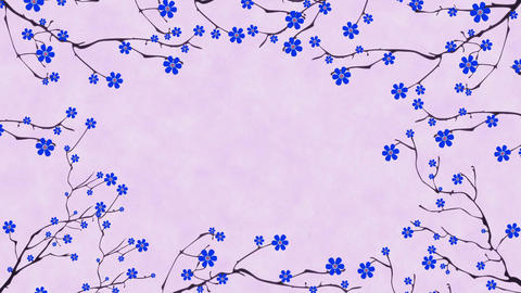 Cherry Blossoming 5 Animation
