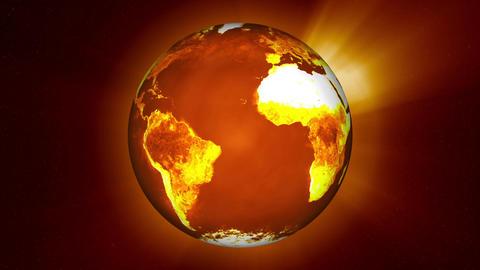 Earth Global Warming Change Stock Video Footage