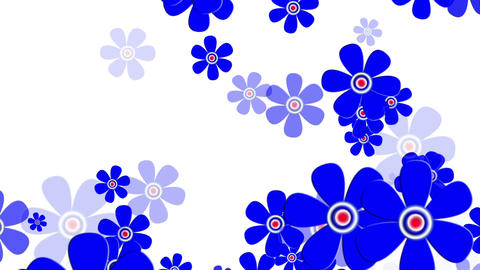Flying Flowers 9 Animation