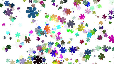 Flying Flowers 26 Animation