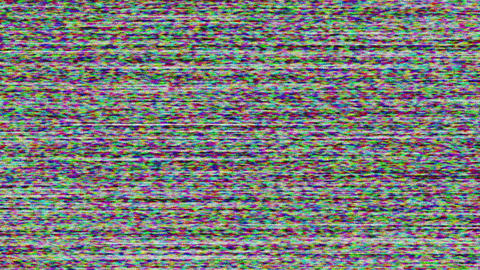 Loss Signal Noise 3 Stock Video Footage