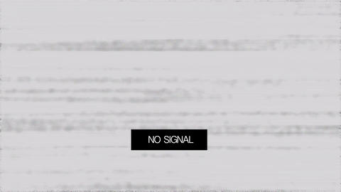Loss Signal Noise 7 Stock Video Footage
