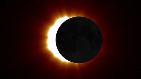 Solar Eclipse 2 Animation