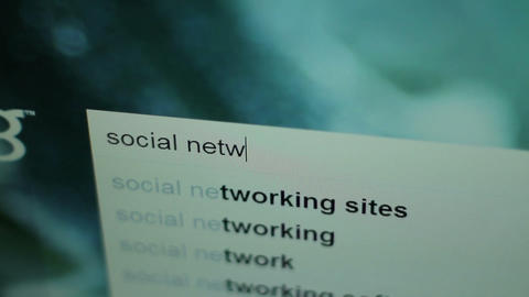 20101221 Social Network Search 01 Footage
