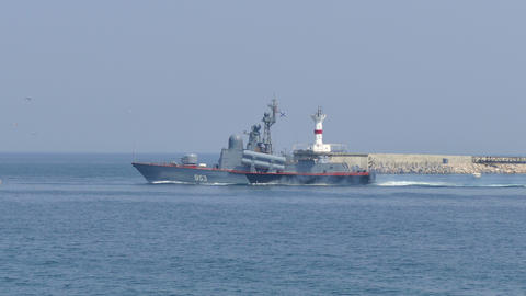 Russian Missile Ship Filmmaterial