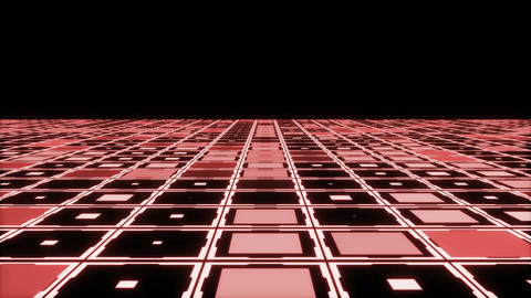 Moving technologic squares Animation