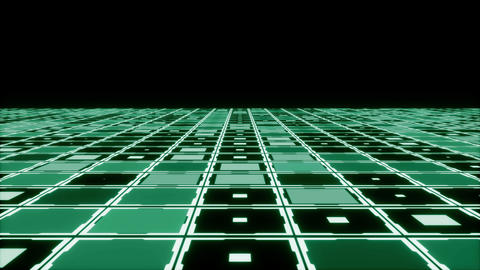 Moving technologic squares Stock Video Footage
