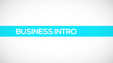 Business Text Titles Animation Logo Reveal Color Stripe Line Corporate HD Intro After Effects Project