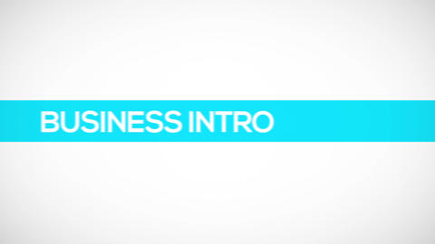 Business Text Titles Animation Logo Reveal Color Stripe Line Corporate HD Intro After Effects Template