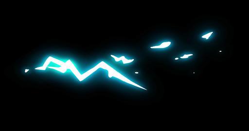 4 Step Lightning Thunder Shot Electrical Cartoon Animation 13 Animation