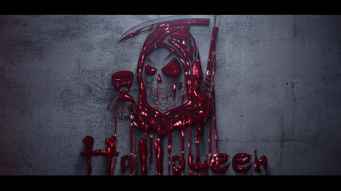 Horror Logo After Effects Template