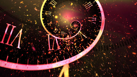 New Year Clock GIF