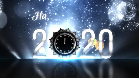 Happy New Year Countdown 2020 Animation