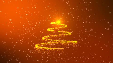 Christmas tree animation background Animation
