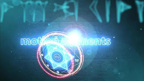 PNG画像も挿入できる異次元風テキストイントロ!MV・コスプレに最適 After Effectsテンプレート