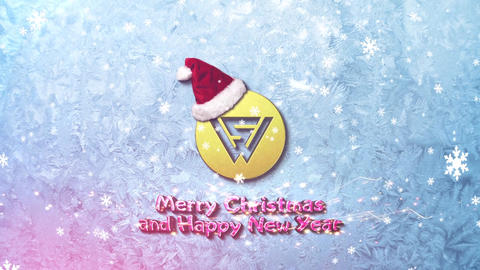MERRY CHRISTMAS LOGO INTRO After Effectsテンプレート