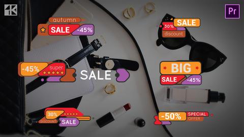 Title Sale 4K Premiere Pro Template